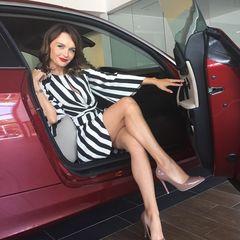 4. Юлия Подозерова #ноги