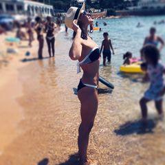 7. Юлия Ковальчук #купальник