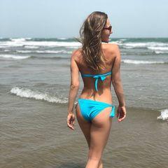 16. Юлия Ковальчук #купальник #попа