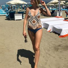 32. Янина Студилина #пляж