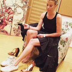 11. Юлия Высоцкая #ноги