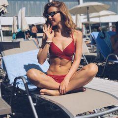 31. Юлианна Караулова #пляж #купальник