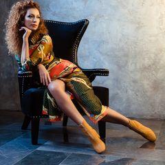 1. Юлия Коган #ноги