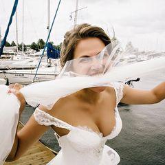1. Юлия Топольницкая #грудь #свадьба