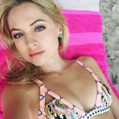 41. Янина Студилина #купальник #грудь